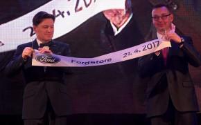 Homolka opens FordStore in Ústí nad Labem