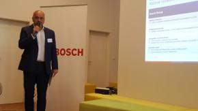Bosch měl výroční tiskovku v Radlicích