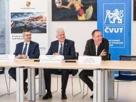 Porsche Engineering rozšíří spolupráci sČVUT