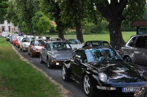 Na zámek Liblice přijelo 154 vozů Porsche