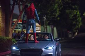 Audi ukáže novou A8 ve filmu o Spidermanovi