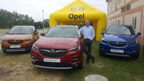 Šilha předvedl Opel Grandland X na Ladronce
