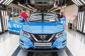 Nissan vyrábí nový Qashqai v Sunderlandu