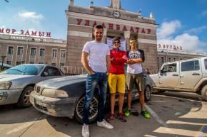 Dvacetileté auto zÁček dojelo do Ulánbátaru
