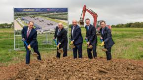 Goodyear začal stavět závod v Lucembursku