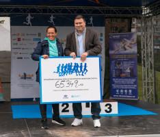 """Projekt """"Běháme s Hyundai přinesl 65 349 Kč"""