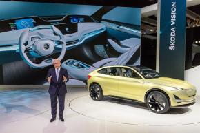 Škoda launched Karoq and Vision E study