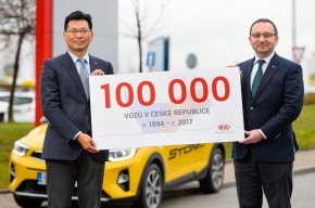 Kia prodala v ČR  přes 100 tisíc vozů