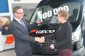 Geco took over the jubilee Ford Transit
