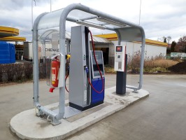 E.ON opened a CNG filler in Teplice