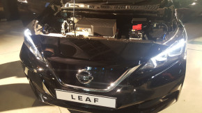 Nissan začal vyrábět nový Leaf v Anglii
