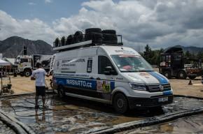 Nový Crafter 4Motion absolvoval Dakar