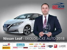 Nissan Leaf Ekologickým autem roku 2018