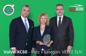 Auto roku 2018: SUV kategorii vyhrálo Volvo XC60