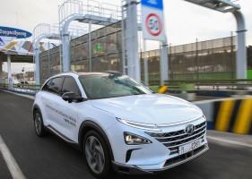 Autonomní Hyundaie dojely do Pchongčchangu