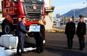Ministryně dala Tatře šek na rekonstrukci Strely