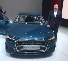 Rozkošný ukázal novinářům nové Audi A6