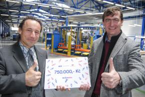 AGC Automotive podpoří region 750.000 Kč