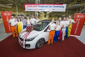Kia v Evropě vyrobila 3 miliony vozidel