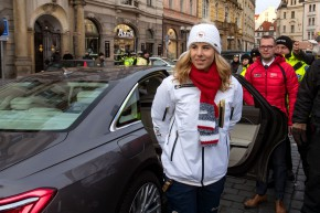 Audi Ski Team congratulates to Ester