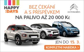 Citroën rozjel akci Happy Days