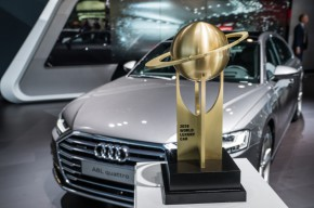 "Audi A8 je ""World Luxury Car 2018"""