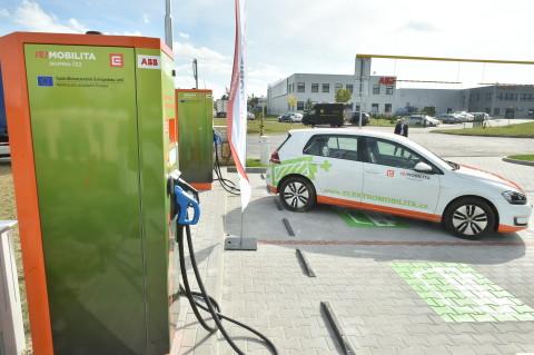charging-station ČEZ
