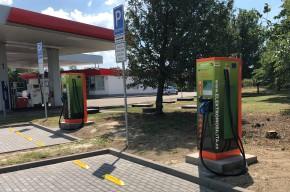 ČEZ bude stavět rychlonabíječky na Benzinách
