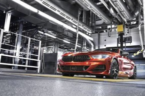 BMW startuje řadu 8 Coupé v Dingolfingu