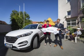 Hyundai předal SUV Tucson Centrinu