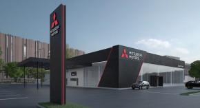 Mitsubishi chystá nový design dealerství