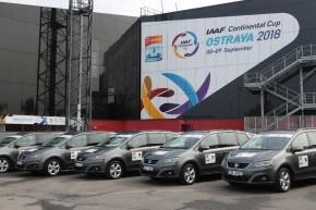 SEAT podpoří Kontinentální pohár v Ostravě