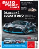 Časopis Auto motor a sport slaví 25 let