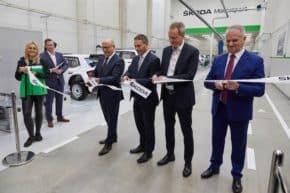 Maier otevřel nové sídlo Škody Motorsport