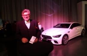 Mercedes hostil vyhlášení akce Grand Restaurant 2019