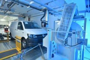 VW Užitkové: nové emisní centrum v Hannoveru