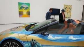 BMW ukázalo v Mánesu vytuněný i8 Roadster