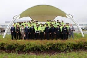 TPCA hostila soutěž dopravních policistů