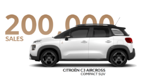 Citroën prodal 200 tisíc SUV C3 Aircross