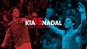 Kia a Rafael Nadal oslavují 15 let spolupráce