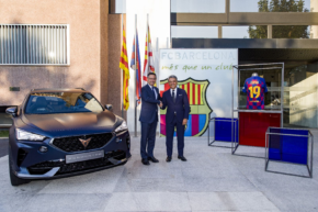 CUPRA sponzorem FC Barcelona na 5 sezon