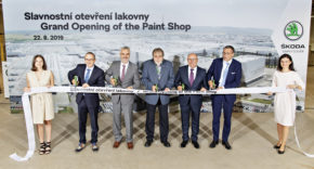 Škoda otevřela lakovnu v Mladé Boleslavi