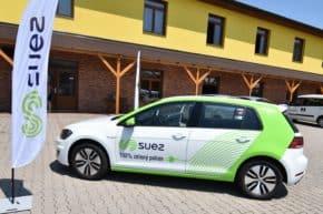 Český SUEZ plánuje nákup elektromobilů