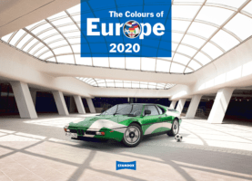 Kalendář Standox 2020 v barvách Evropy