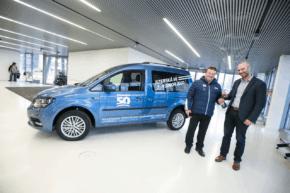 Volkswagen předal Caddy šéfovi Jizerské 50