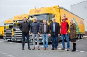 DHL pořídila kamiony na LNG pohon
