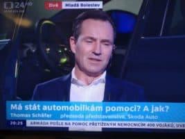 Schäfer: Škoda vyvíjí malý elektromobil