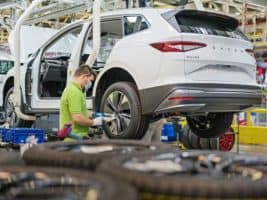 Skoda's lack of chips can complicate production