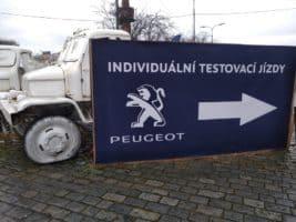 Peugeot předvedl nové SUV modely v Pragovce